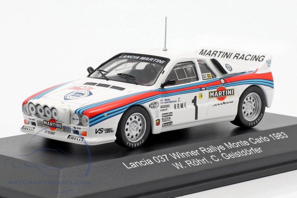 Lancia 037 #1 Winner Rally Monte Carlo 1983 Röhrl, Geistdörfer