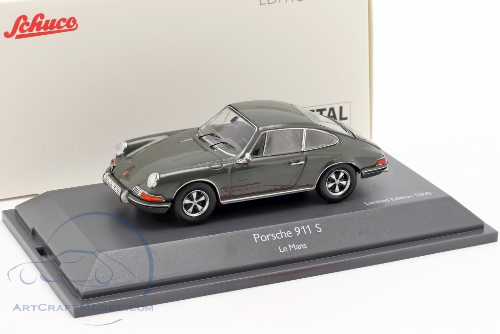 Porsche 911 S Steve McQueen MovieCar Movie Le Mans (1971) gray