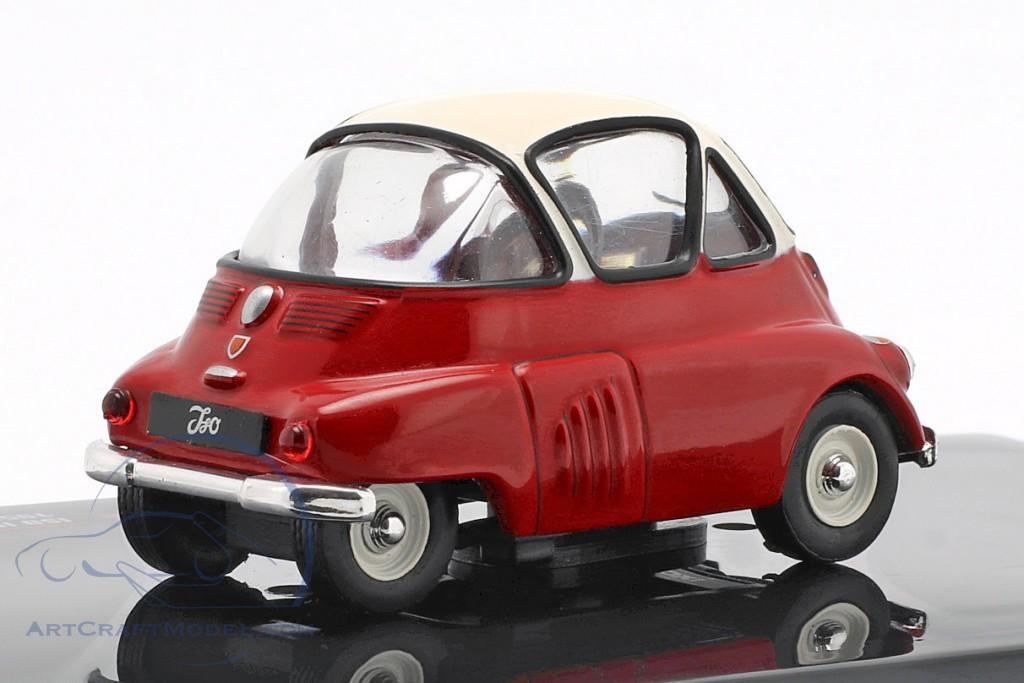 Ixo Model CLC312N ISO ISETTA 1955 Red//White 1:43 MODELLINO Die Cast Model Compatible con