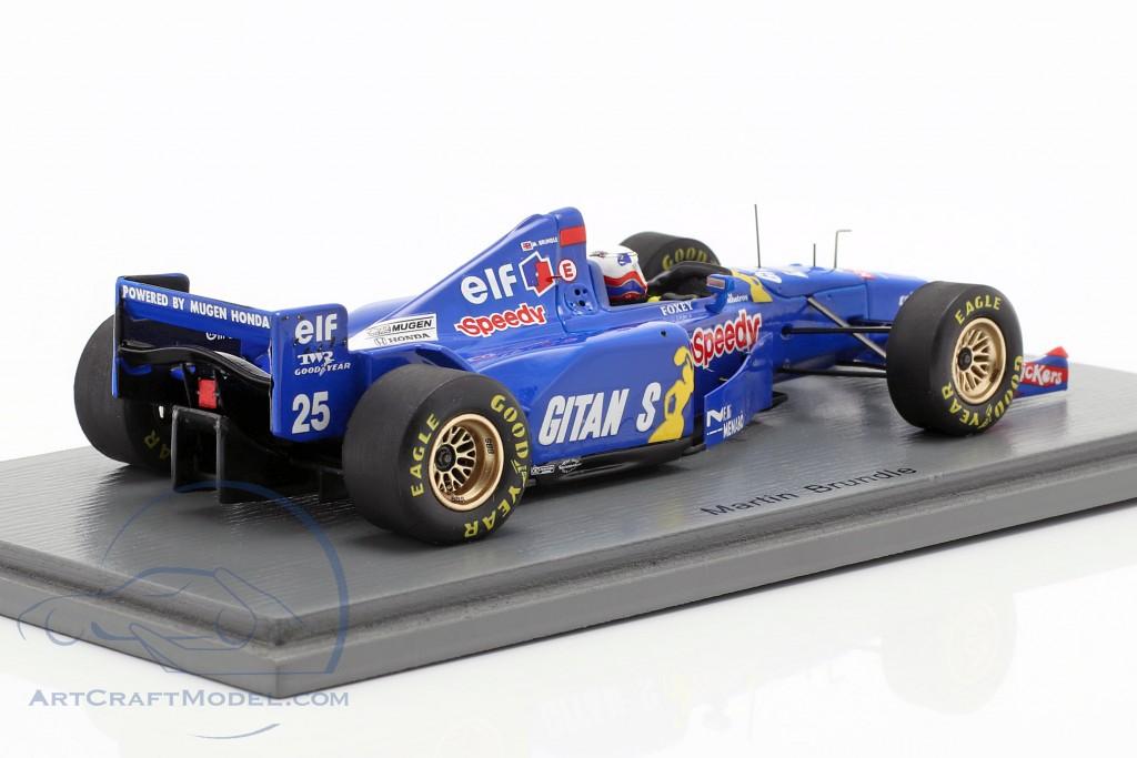 Martin Brundle Ligier JS41 #25 3rd Belgian GP formula 1 1995