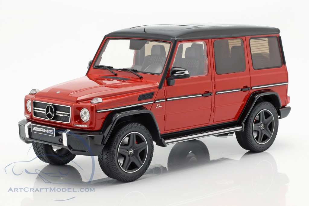 Mercedes-Benz G-Klasse G63 AMG Crazy Colors tomato red