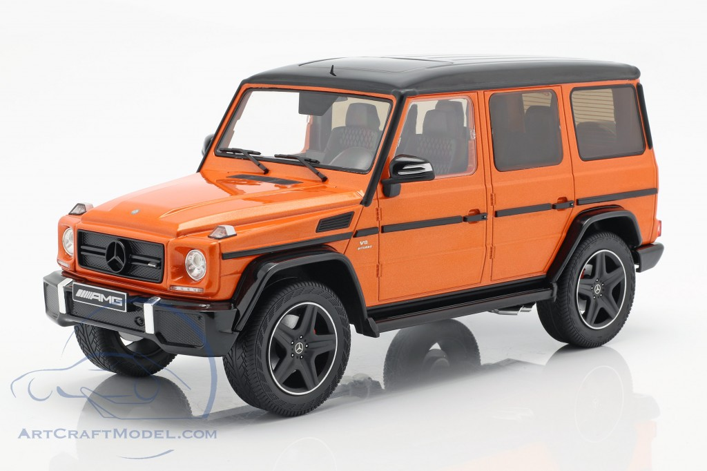 Mercedes-Benz G-Klasse G63 AMG Crazy Colors sunsetbeam orange