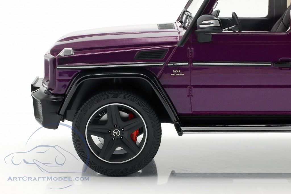 Mercedes-Benz G-Klasse G63 AMG Crazy Colors galacticbeam purple
