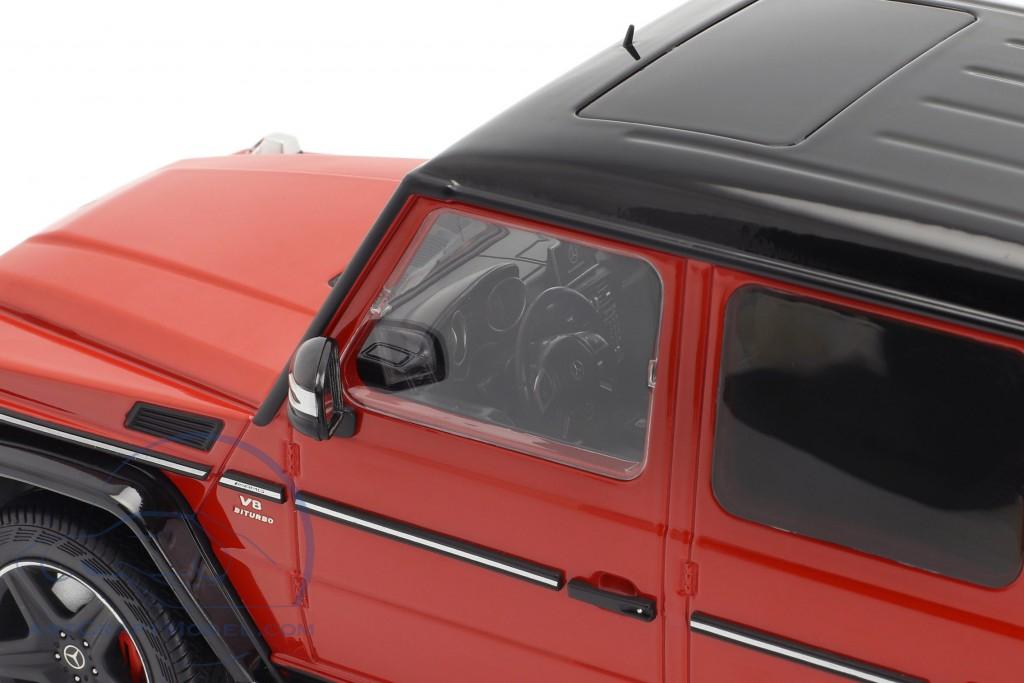 Mercedes-Benz G-Klasse G63 AMG Crazy Colors tomato red