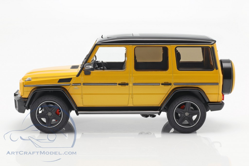 Mercedes-Benz G-Klasse G63 AMG Crazy Colors solarbeam yellow