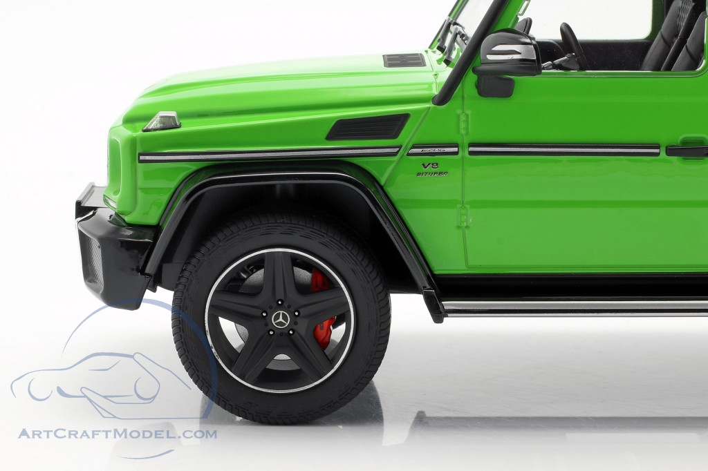Mercedes-Benz G-Klasse G63 AMG Crazy Colors alien green