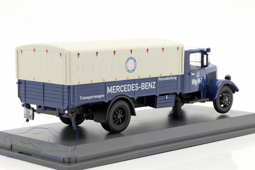 Mercedes-Benz Lo 2750 Rennabteilung transport van