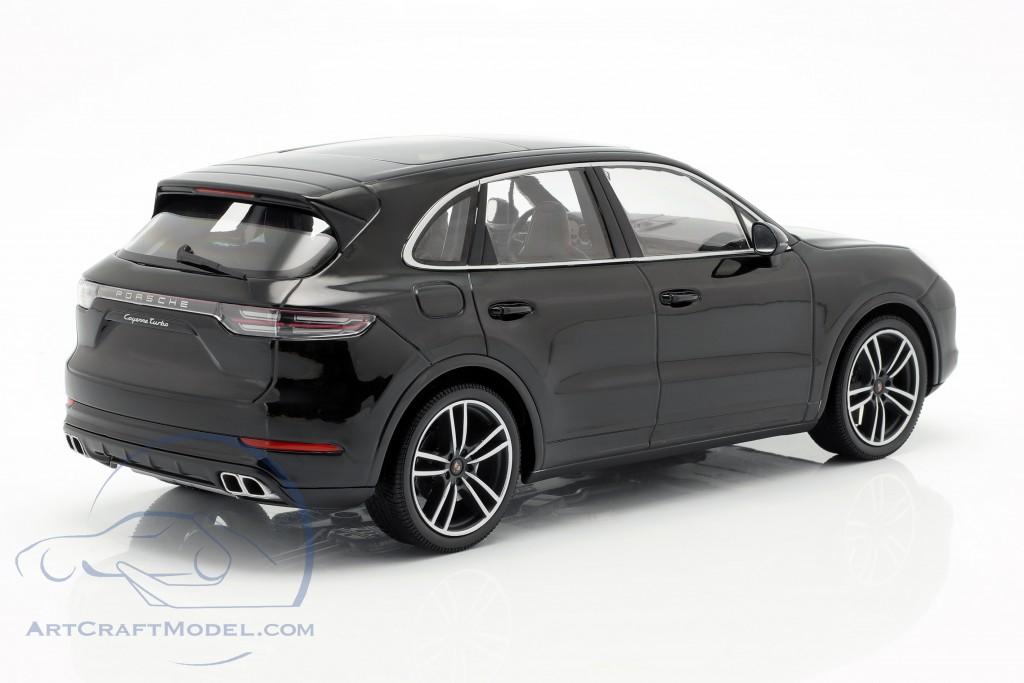 Porsche Cayenne Turbo S Year 2017 Black 155066070 Ean 4012138149663