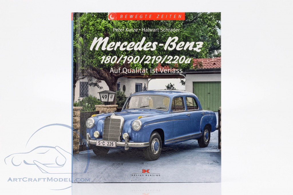 Book: Mercedes-Benz 180 / 190 / 219 / 220a - You can rely on quality