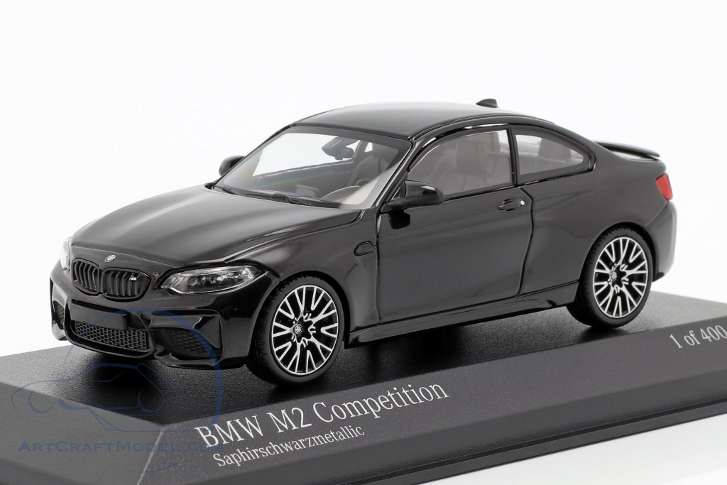 BMW M2 Competition year 2019 sapphire black metallic