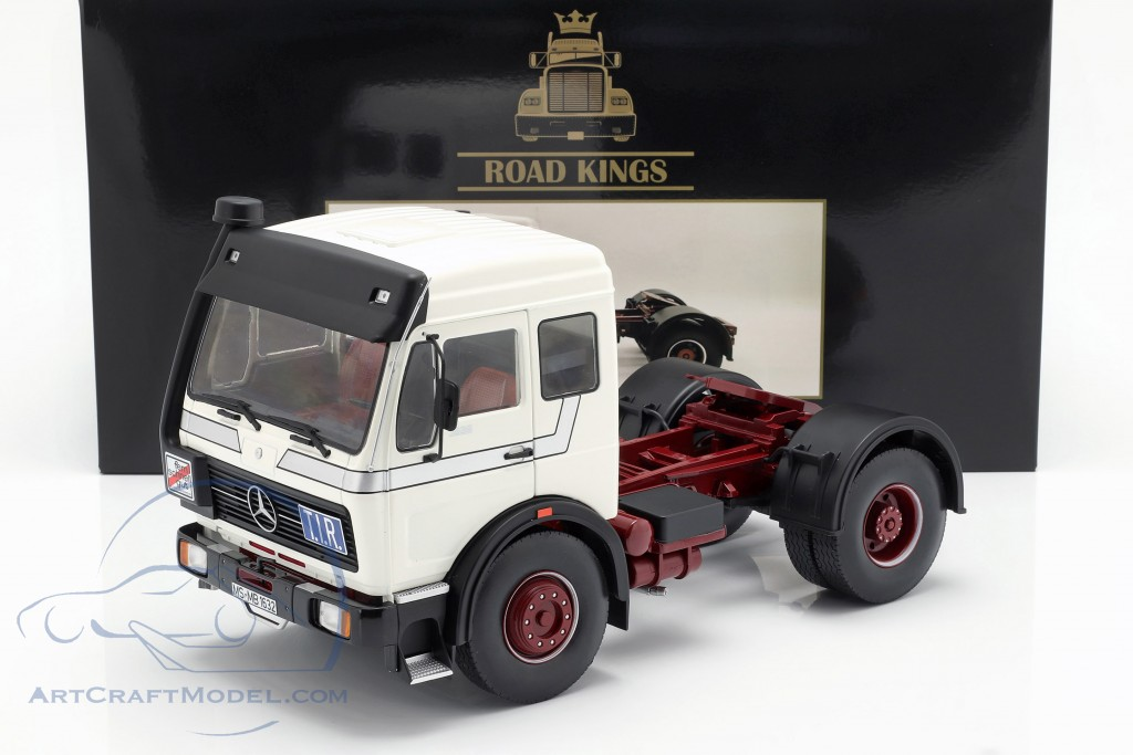 Mercedes-Benz NG 1632 Tractor year 1973 white