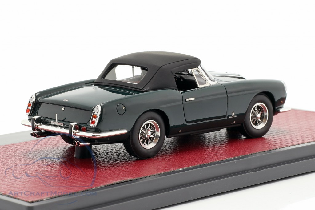 Ferrari 400 Superamericana Pininfarina Cabriolet closed Top 1959 green