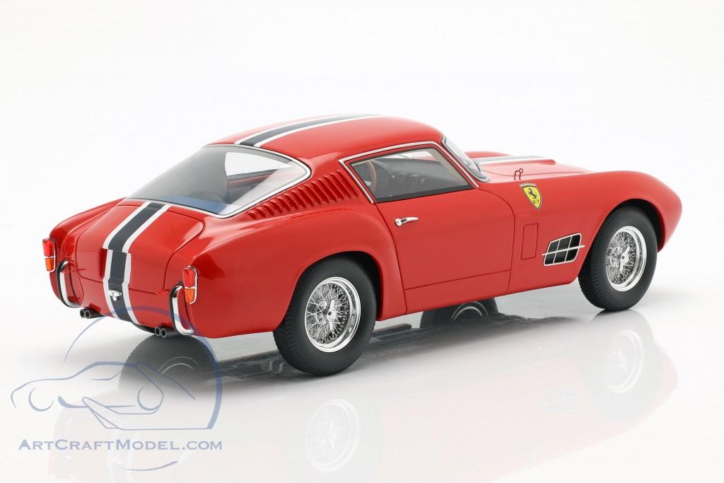 Ferrari 250 Gt Lwb Year 1957 Red With Blue White Stripe Cmr105 Ean 635131632037