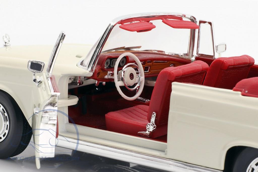 Mercedes-Benz 280 SE Year 1967 cream white