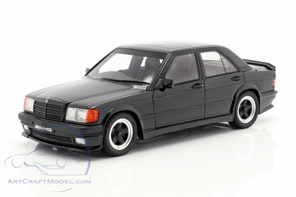 1:18 Otto mercedes 190 e 2.3 AMG 1984 Black