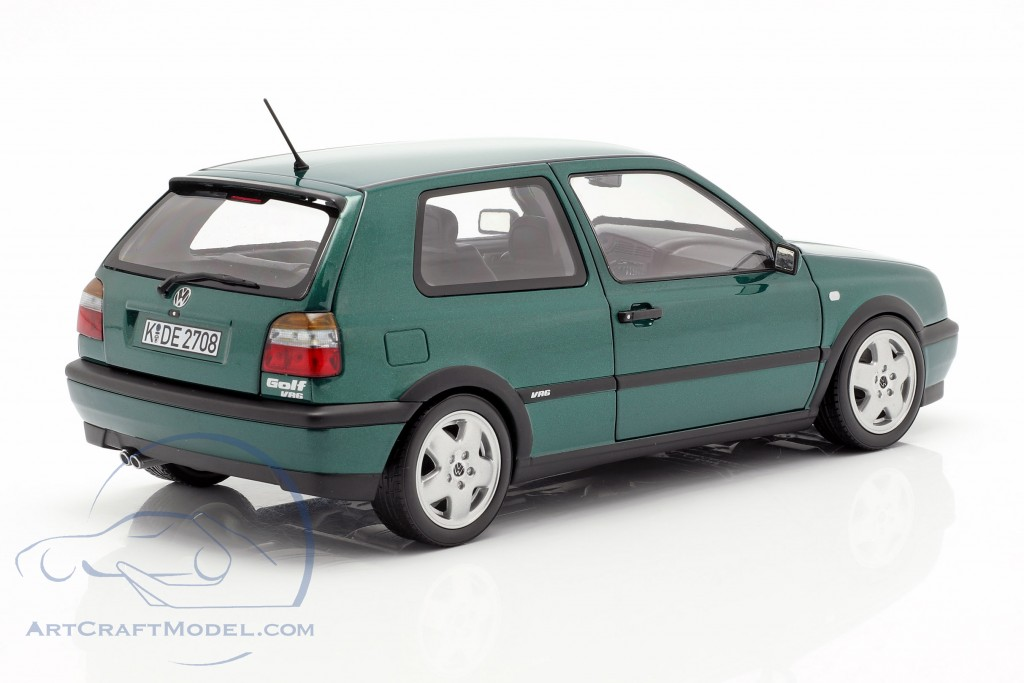 Volkswagen VW Golf III VR6 year 1996 green metallic