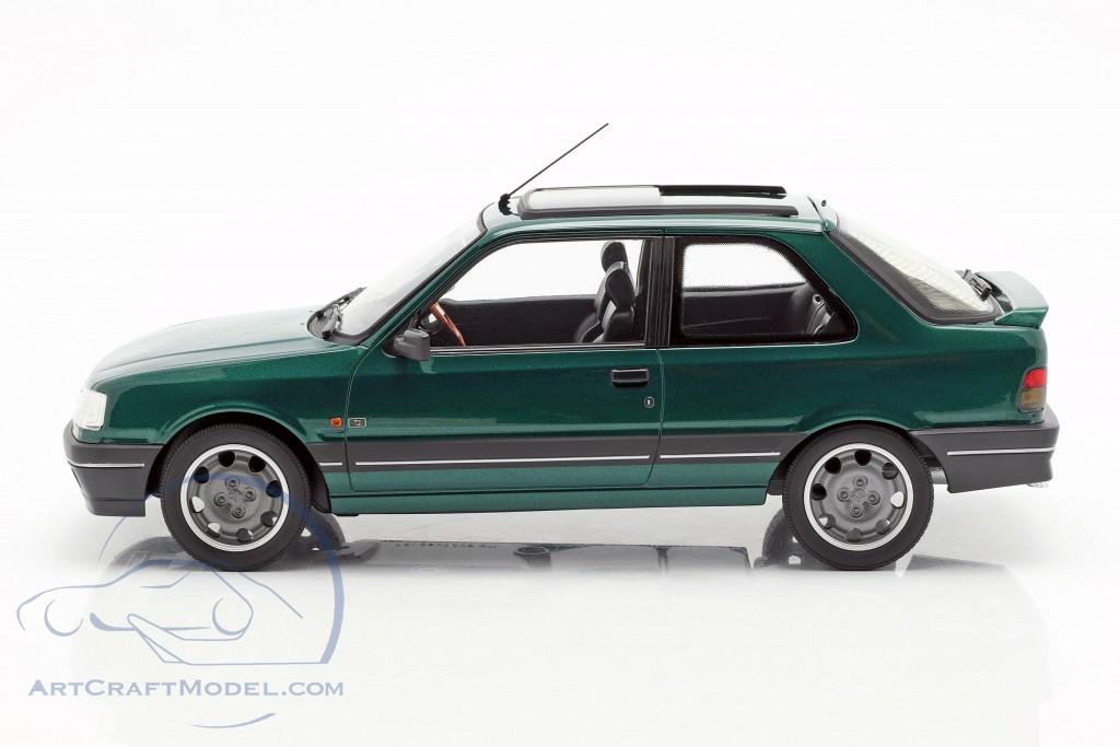 Peugeot 309 GTi RHD Goodwood year 1991 green metallic