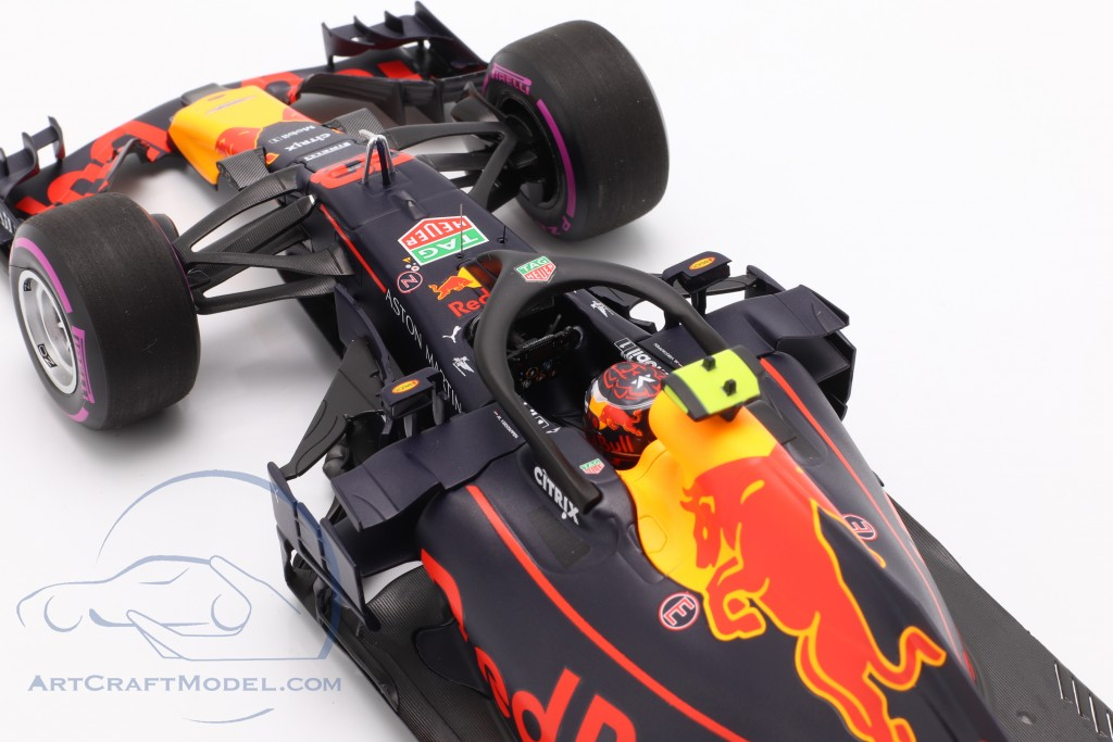 Max Verstappen Red Bull Racing RB14 #33 Winner Mexican GP F1 2018