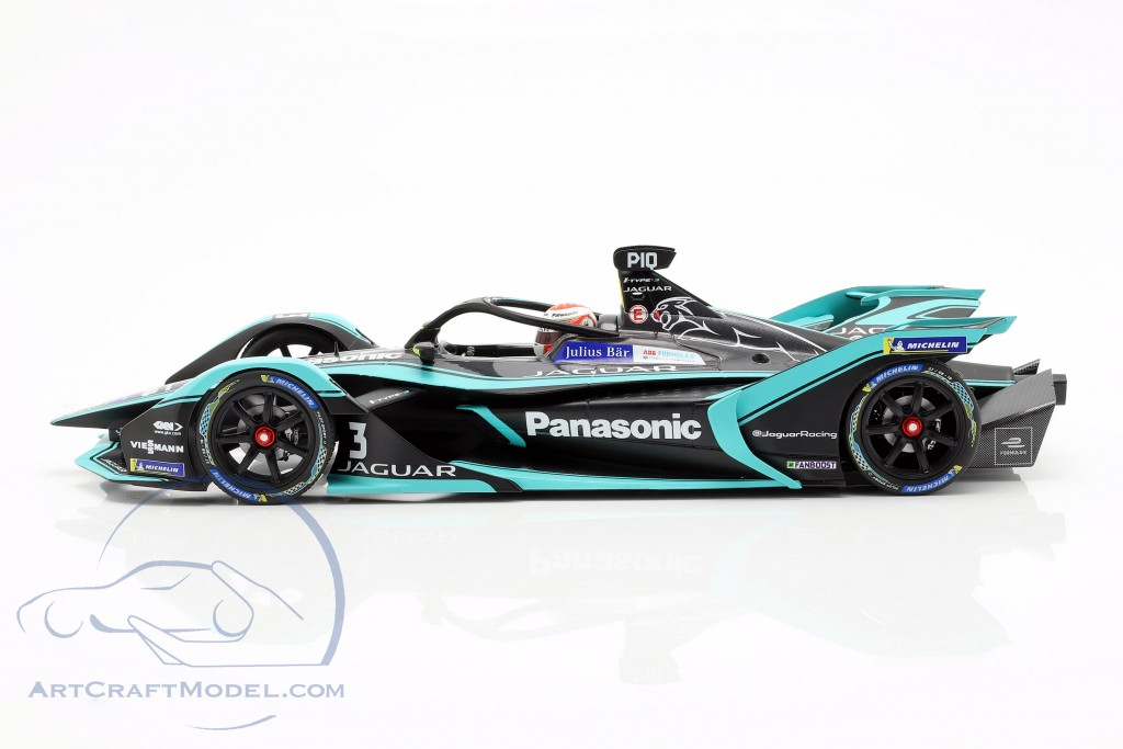 Nelson Piquet jr. Jaguar I-Type III #3 formula E season 5 2018/19