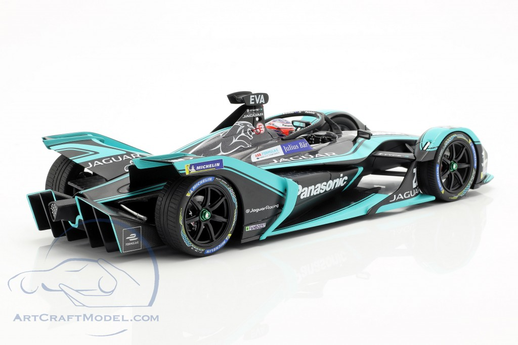 Mitch Evans Jaguar I-Type III #20 formula E season 5 2018/19