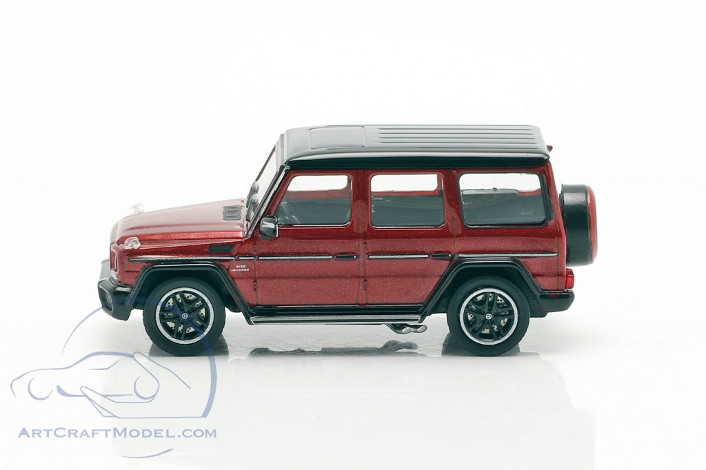 Mercedes-Benz AMG G65 year 2015 red metallic
