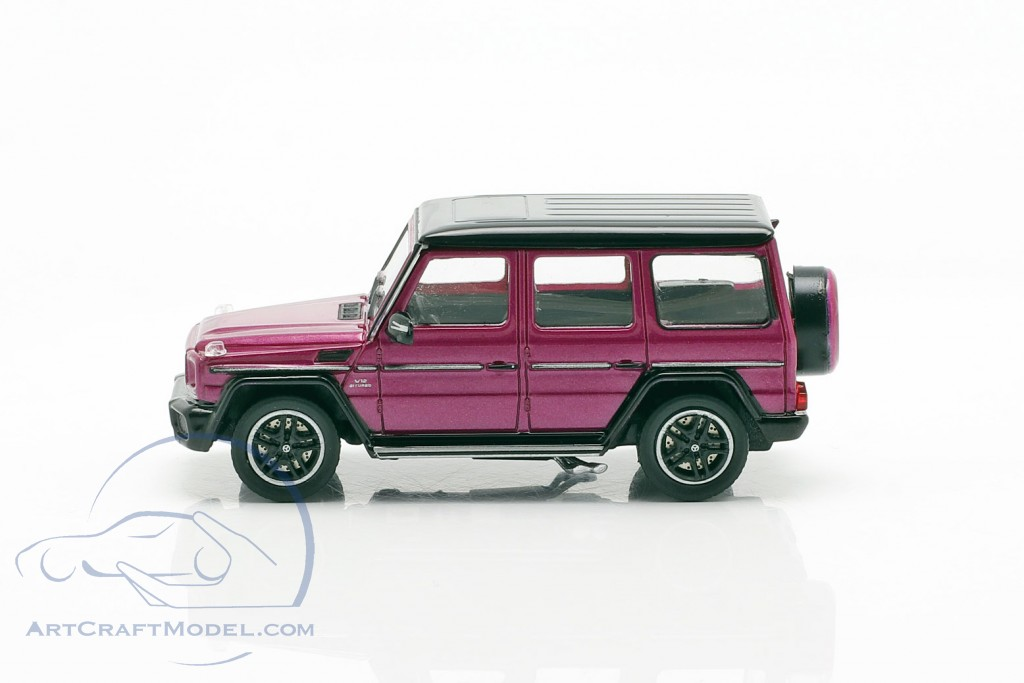 Mercedes-Benz AMG G65 year 2015 purple metallic