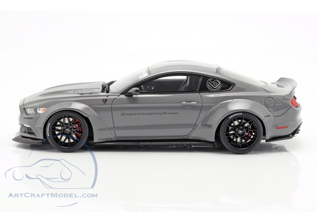Ford Mustang by LB Works grey  GT-Spirit