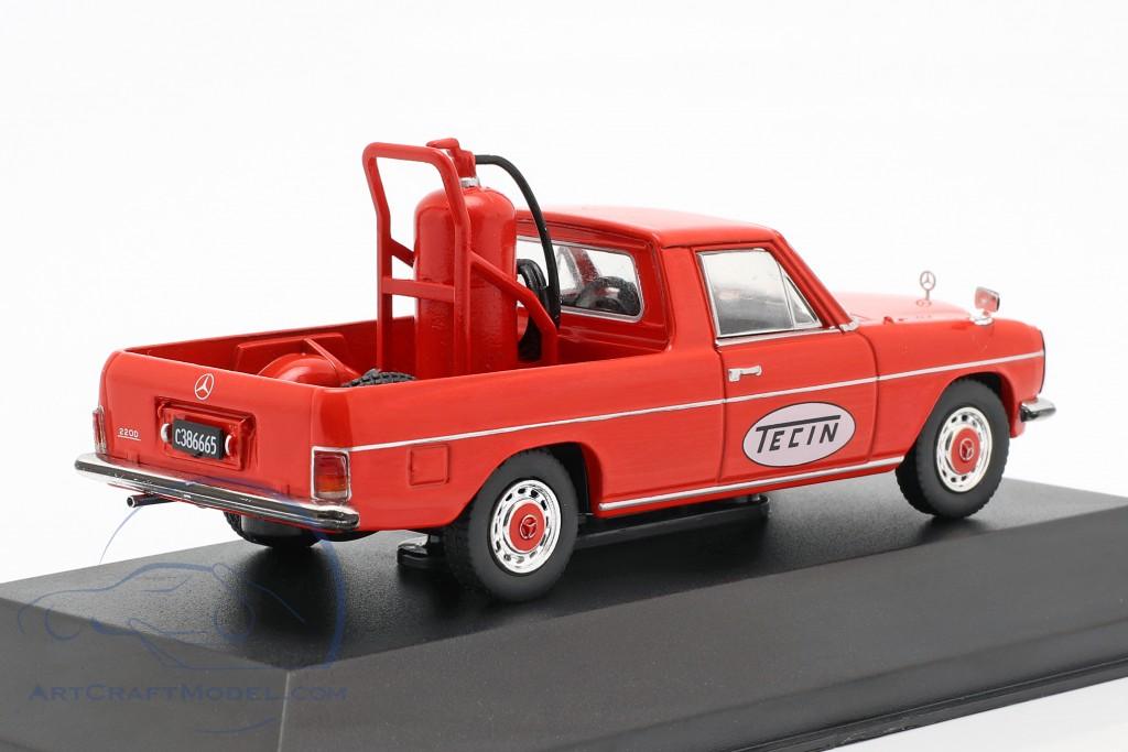 Mercedes-Benz 220D Pick-Up Tecin Construction year 1972 red