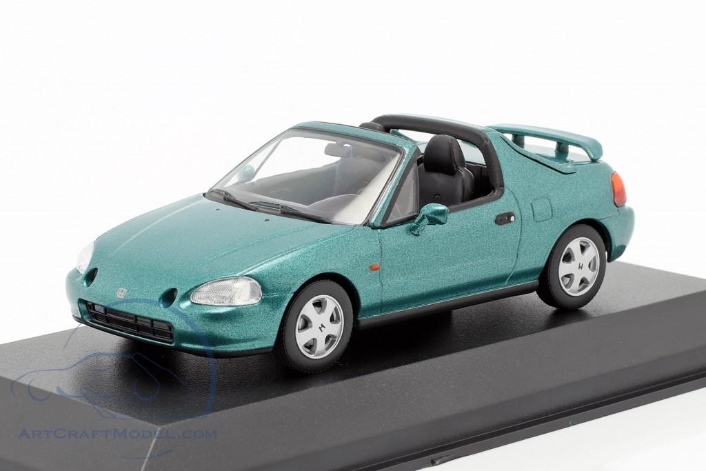 Honda CR-X Del Sol Typ EH6 Rot 1992-1998 limitiert 1 von 1008 Triple 9 1//43 Ixo