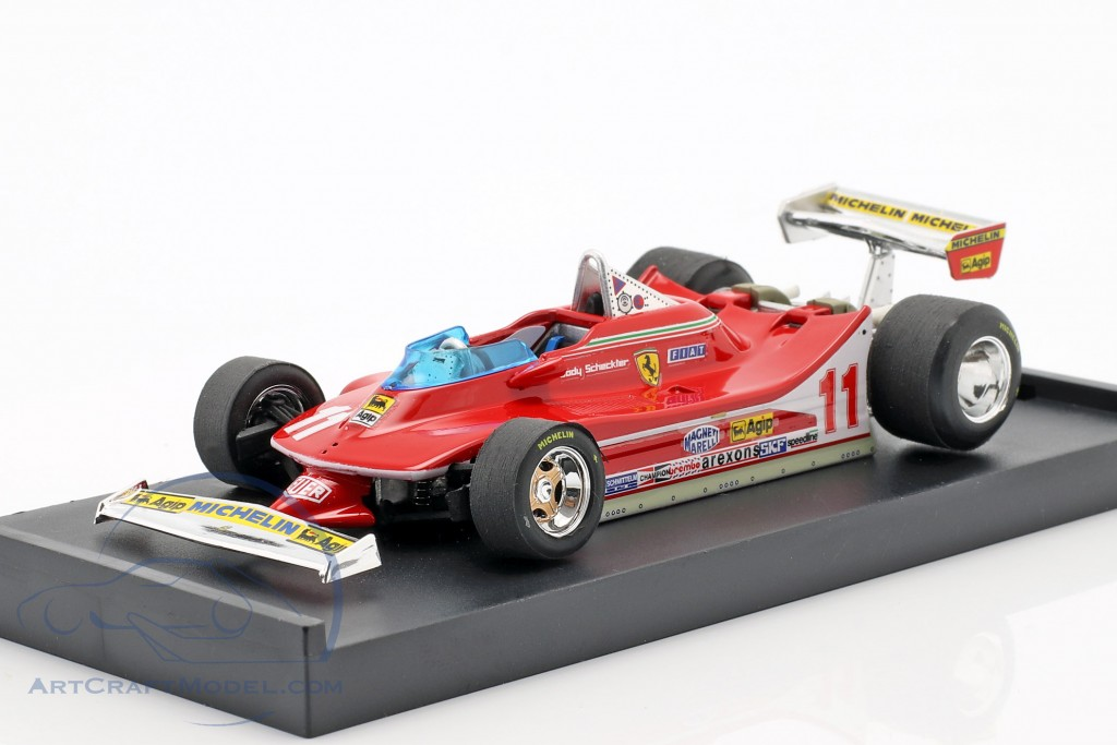 J. Scheckter Ferrari 312T4 #11 winner italian GP World Champion F1 1979