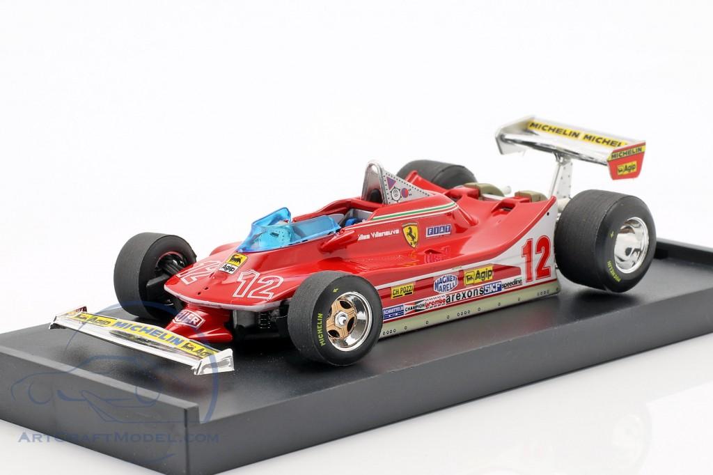 Gilles Villeneuve Ferrari 312T4 #12 2nd French GP formula 1 1979