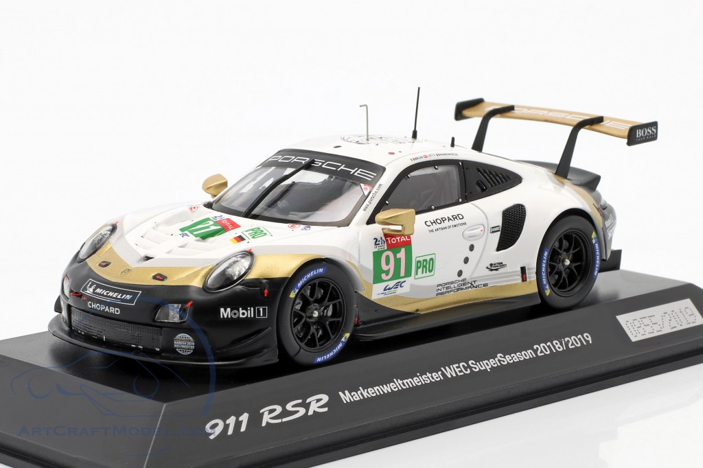 Porsche 911 RSR #91 Worldchampion WEC SuperSeason 2018/2019 24hLeMans