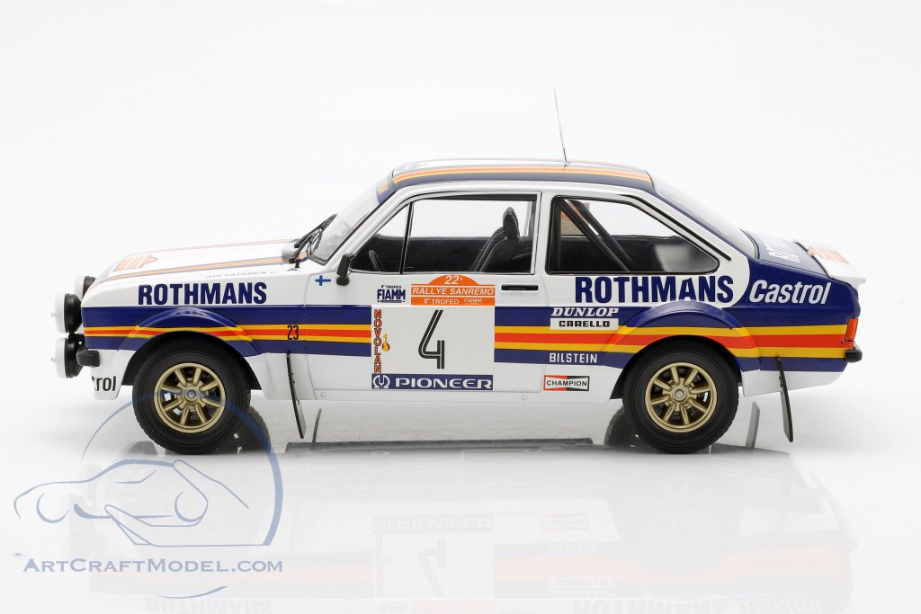 Ford Escort MK II RS1800 #4 2nd Rallye SanRemo 1980 Vatanen, Richards