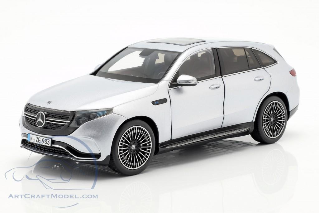 Mercedes-Benz EQC 4matic (N293) year 2019 hightech silver