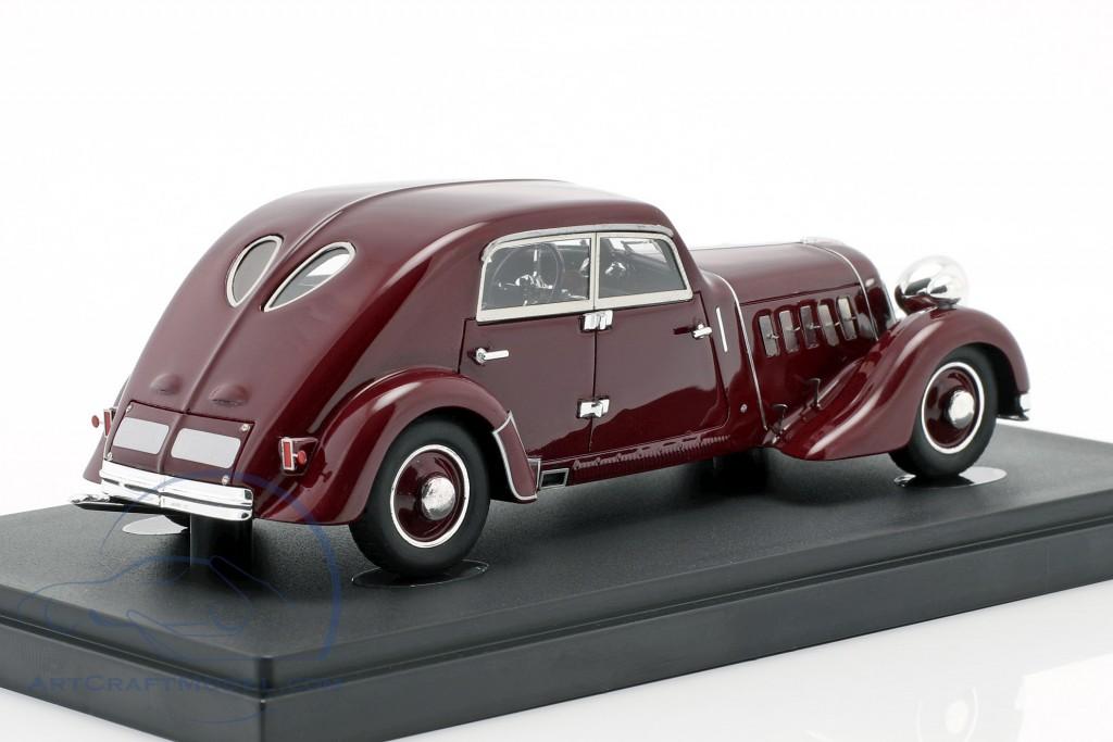 Röhr 8 Type F Streamline year 1932 dark red