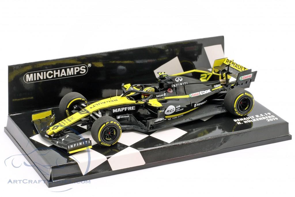 Nico Hülkenberg Renault R.S.19 #27 formula 1 2019
