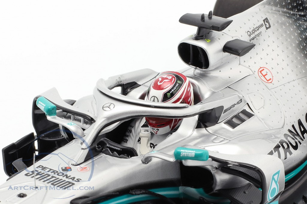 L. Hamilton Mercedes-AMG F1 W10 EQ #44 Formula 1 World Champion 2019