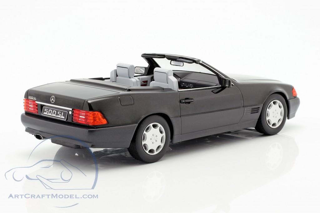 Mercedes-Benz 500 SL (R129) year 1993 black metallic