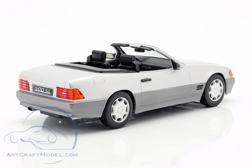 Mercedes-Benz 500 SL (R129) year 1993 silver