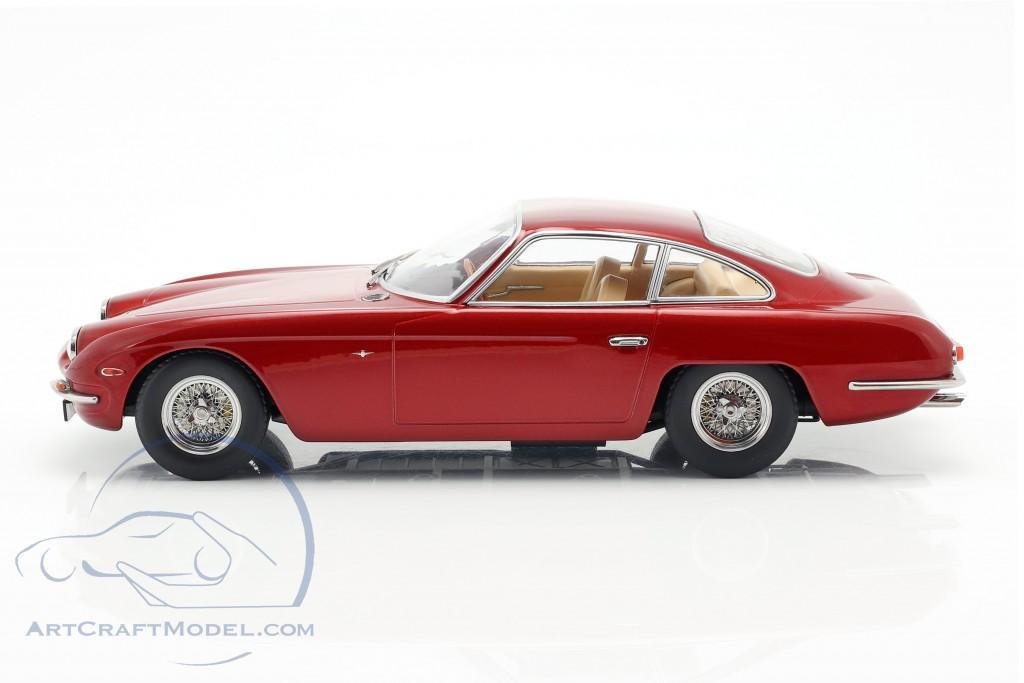 Lamborghini 400 GT 2+2 Baujahr 1965 red metallic