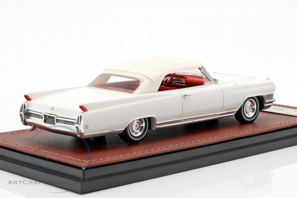 Cadillac Eldorado Convertible Closed Top year 1964 aspen white  GLM