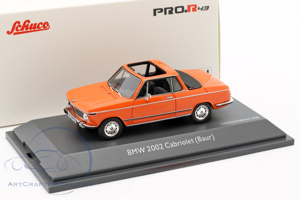 BMW 2002 Cabriolet Baur orange