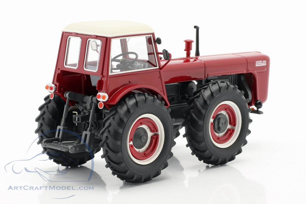 Steyr 1300 System Dutra tractor red