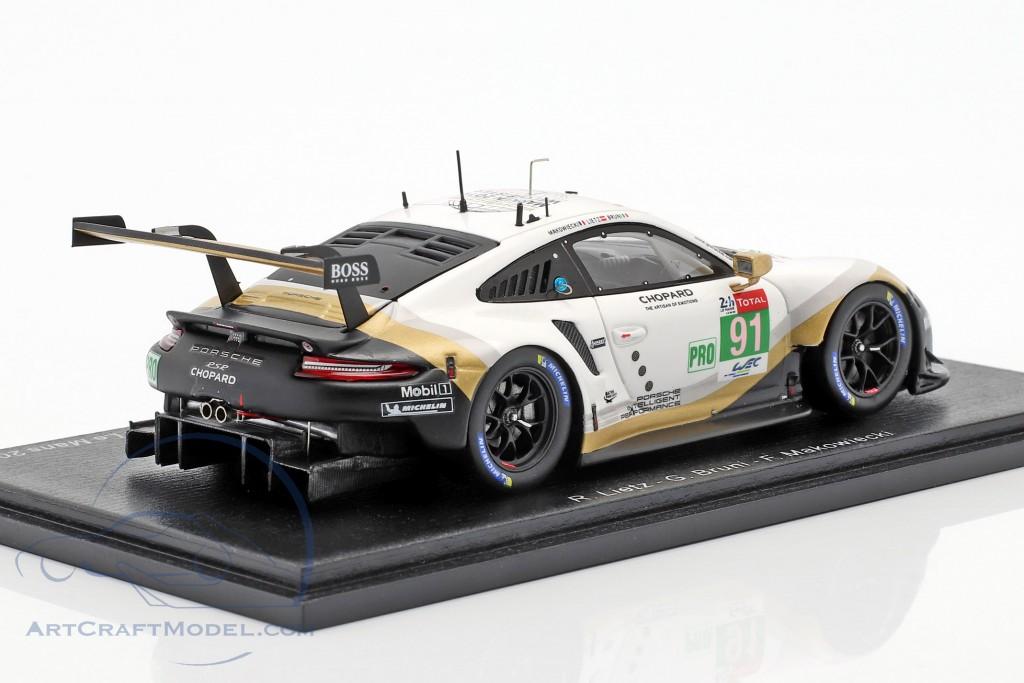 Porsche 911 RSR #91 2nd LMGTE Pro 24h LeMans 2019 Porsche GT Team