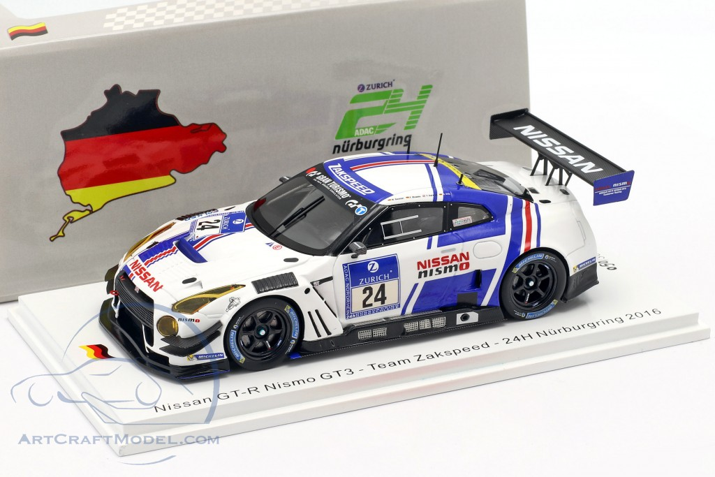 Nissan GT-R Nismo GT3 #24 24h Nürburgring 2016 Team Zakspeed