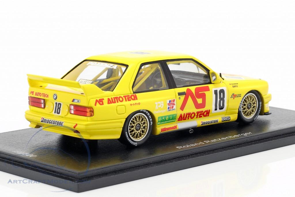 BMW M3 (E30) #18 Macau Guia Race 1991 Roland Ratzenberger