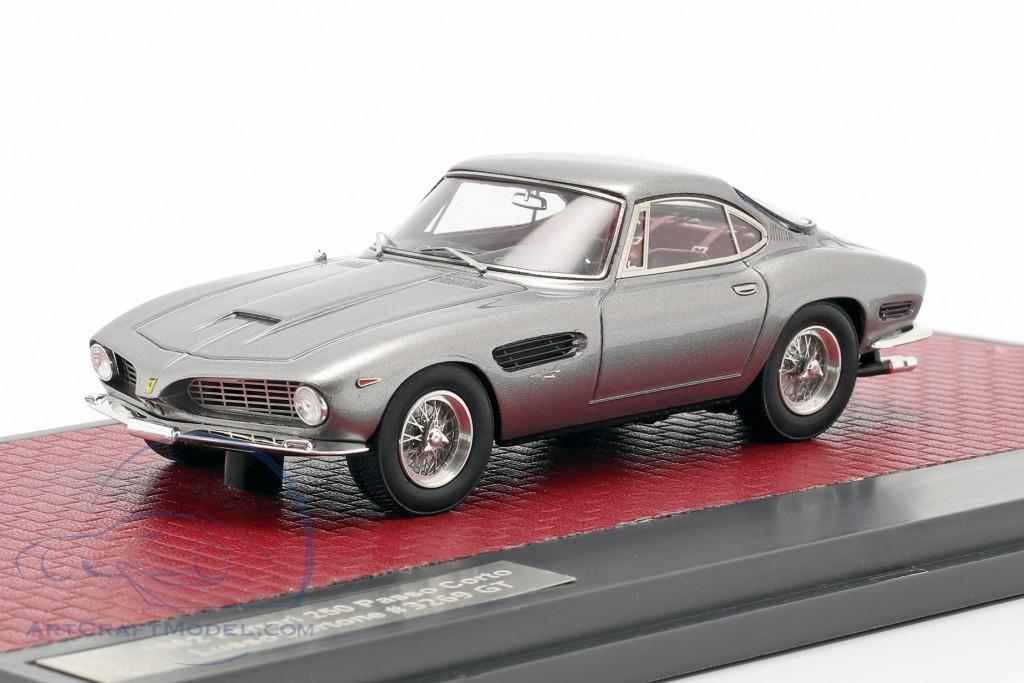 Ferrari 250 Passo Corto Lusso Bertone Sharknose 1962 grey metallic
