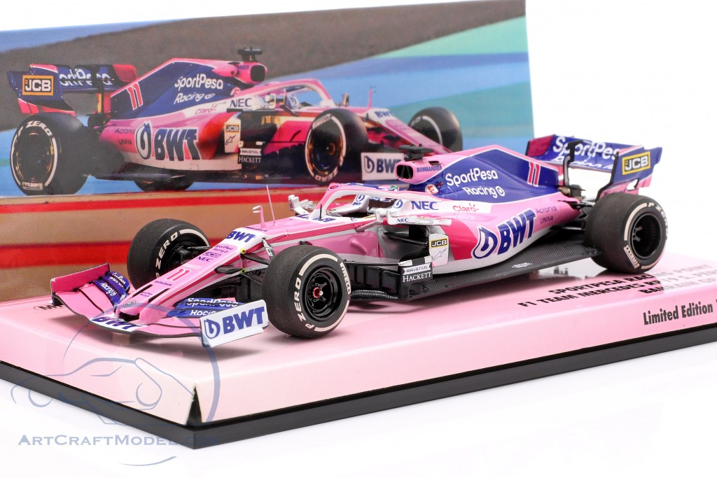 Sergio Perez Racing Point RP19 #11 Bahrain GP formula 1 2019