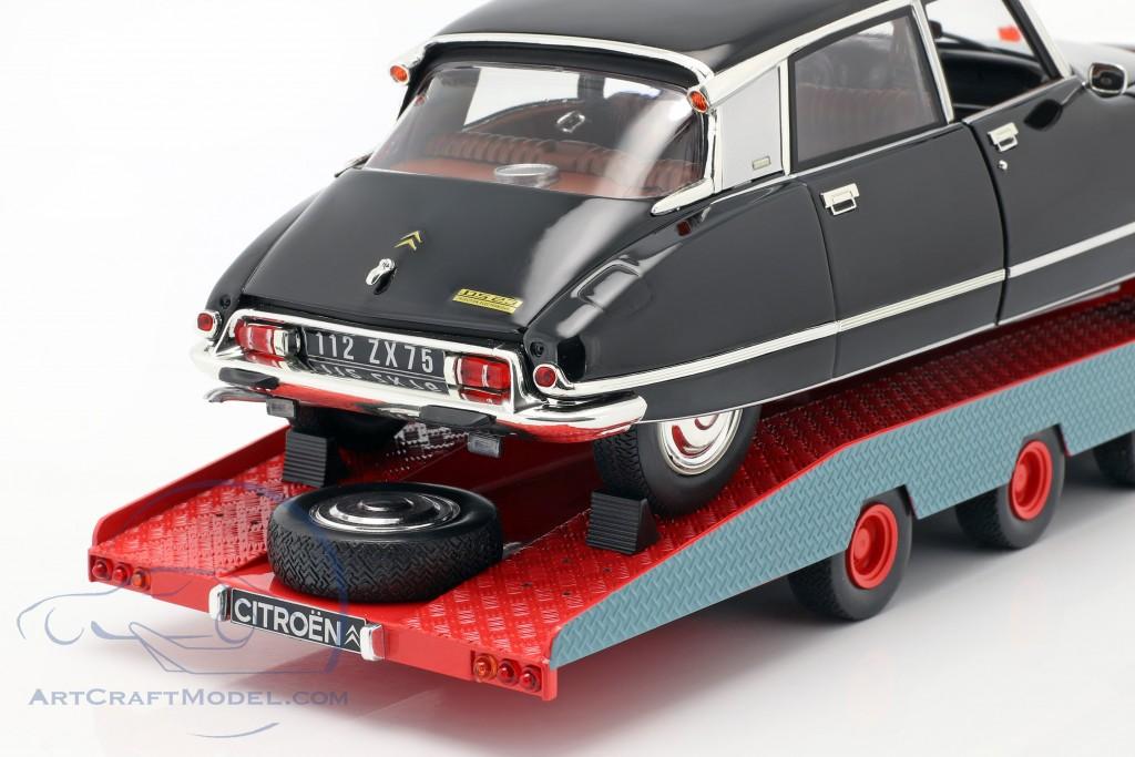 #CMR138 1970-1:18 CMR Citroen DS Tissier Car Transporter