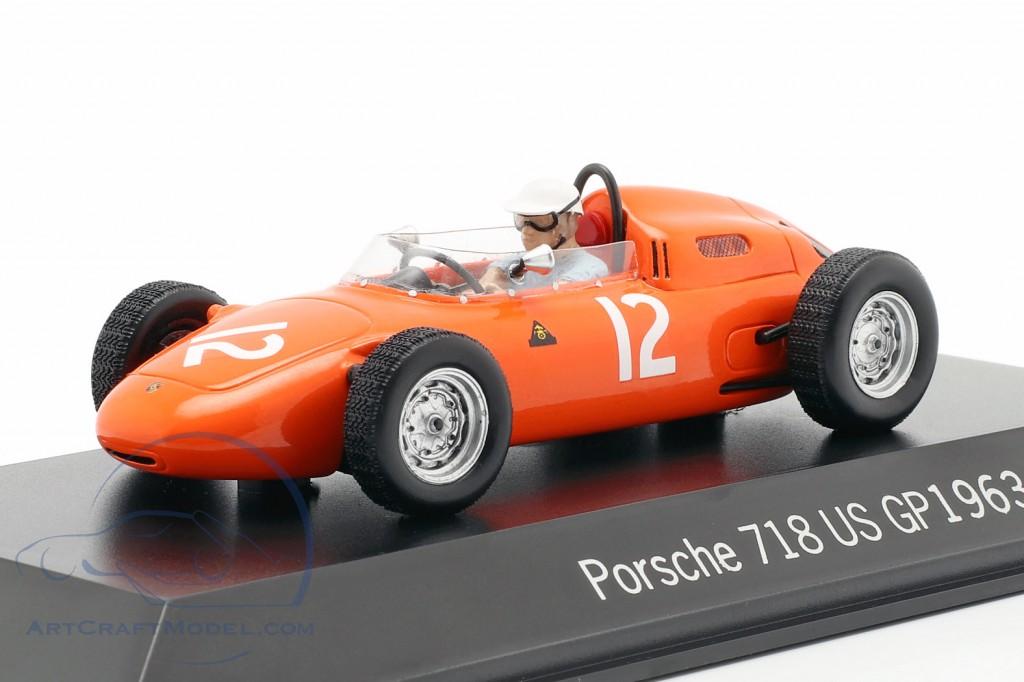 Carel Godin De Beaufort Porsche 718 12 Usa Gp Formula 1 1963 Map02018715